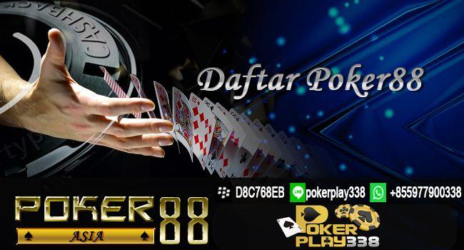 Daftar Poker88 CIMB NIAGAA